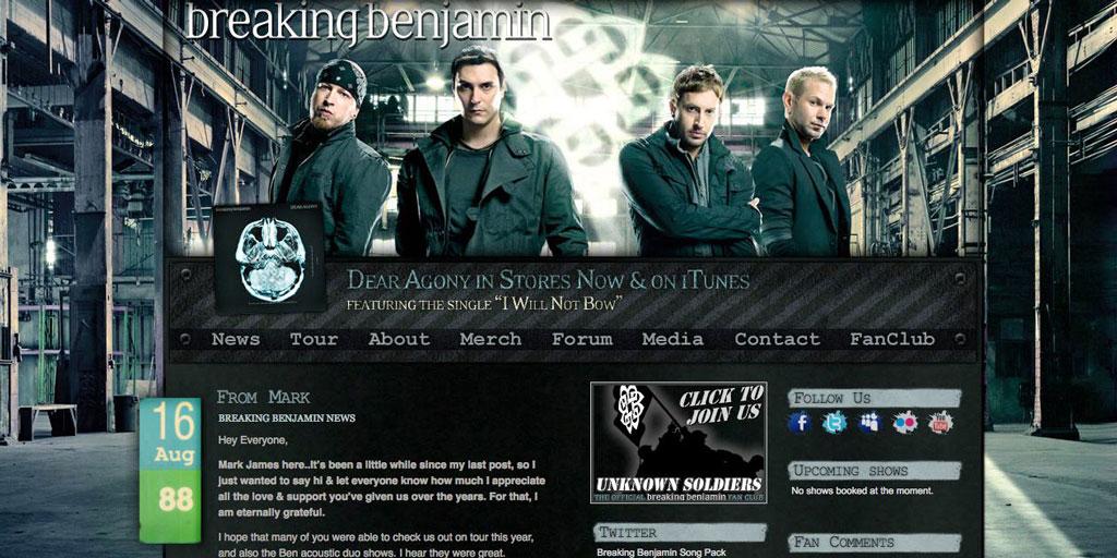 BreakingBenjamin.com